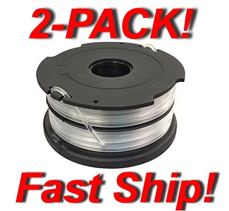 2x Genuine Black & Decker Dual-Line Replacement Spool DF-065-BKP - In Orange bag - $11.71