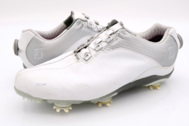 FootJoy Womens 10 W White DNA BOA Slip On Walking Spiked Cleats Golf Shoes - $43.99