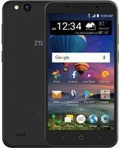 "NEW ZTE ZFive G - LTE (GSM UNLOCKED) 5"" Display Smartphone   Black"