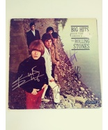 Mick Jagger Keith Richards Charlie Watts Ronnie Wood album signed  - $149.00