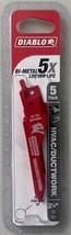 "Diablo DS0332BF5 3-1/4"" HVAC/Ductwork Bi-Metal Reciprocating Blade (5-Pack) - $10.89"