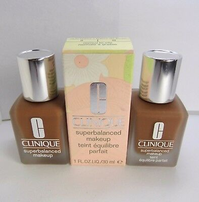 Primary image for 2pc CLINIQUE 17 Amber Superbalanced Makeup Foundation 2.0 oz