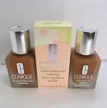 2pc CLINIQUE 17 Amber Superbalanced Makeup Foundation 2.0 oz - $36.93