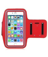 Red Armband Exercise Case fits ZTE Blade Z Max and Sequoia - $9.89