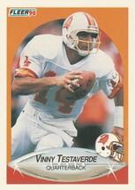 1990 Fleer #356 Vinny Testaverde - $0.50