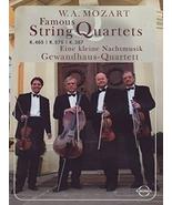Mozart - Famous String Quartets / Gewandhaus Quartet - $22.99