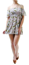 Free people Women's Louise Printed Mini Dress Multicolored Size XS RRP £... - $58.99