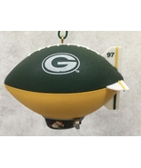 1997 Green Bay Packers Football Blimp Christmas Ornament - $15.75