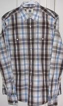 Levi's Mens Medium 100% Cotton Western Style Button Front Long Sleeve Shirt - $13.46