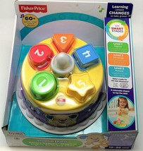 Fisher-Price Musical Lights Birthday Cake Laugh and Learn Smart Stages Toy image 2