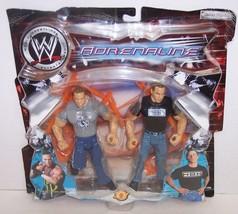"New! 2003 Jakk's Adrenaline ""RVD"" vs ""HBK"" Action Figure Set WWF WWE [359] - $29.69"
