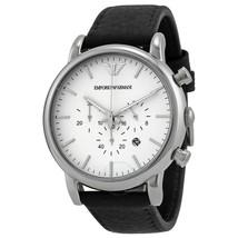 Emporio Armani AR1807 Men's Chronograph Date Leather Strap Watch - $115.34