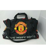 Manchester United Duffel Gym Travel Shoulder Soccer Football Bag VTG 90s... - $59.39