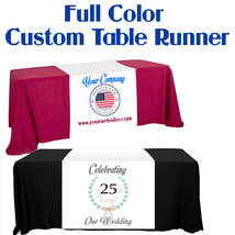 Customize Table Runner Cloth Using Your Text and Log Customized Table Runners 2' image 4