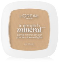 L'Oreal Paris True Match Mineral Pressed Powder, Nude Beige, 0.31 Ounce - $12.52