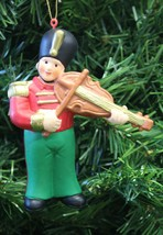 Kurt S. Alder Toy Soldier Playing The Violin Christmas Tree Ornament - $5.99