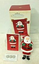 2002 Tickle Tickle Santa Magic  Hallmark Christmas Tree Ornament MIB Pri... - $34.16