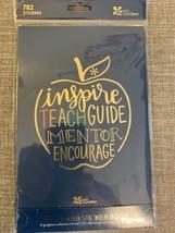 "Erin Condren Classroom Sticker Book of 782 Stickers Matte Finish 5"" X 8""... - $8.96"