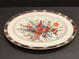 Ralph Lauren Wedgwood Hampton Floral Oval Serving Platter - $127.71