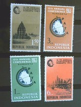 Indonesia  Set of 4 Stamps Mint MNH- Free Shipping  Lot  3023 - $1.68