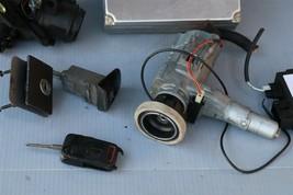 1999 Mercedes SLK230 Ignition Switch Skreem Door Trunk Glovebox Lock Key Fob ECU image 2