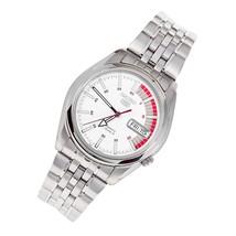 Seiko 5 SNK369K1 Seiko automatic men's watch Seiko Speed Racer white dial 37mm  - $119.00