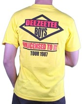 Dissizit DEEZEE Tee Boys Licensed to Ill Yellow T-Shirt image 2
