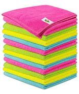 SCRUBIT Microfiber Cleaning Cloth Lint Free Anti-Bacterial Towels for Ho... - $9.89