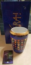 W. Goebel Porzellanfrabrik Artist Mara Porcelain Blue Love Vase w/ Box F... - $29.69