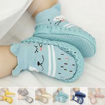 Animal Toddler Baby Anti-slip Socks Boots Slipper Shoes Prewalker Grip 0... - $4.60