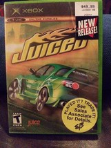 XBOX ORIGINAL: JUICED VIDEO GAME - MICROSOFT / MANUAL INCLUDED - $9.50