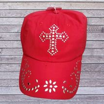 Red Cross Cap Silver Dots M & F Western Products Inc image 1