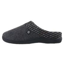 Isotoner Men's Glen Plaid Warren Hoodback SlippersAsh LARGE Size  BRAND... - $39.42 CAD