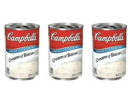 3 pack- Campbell's Cream Of Bacon Soup 10.5 oz - $12.99