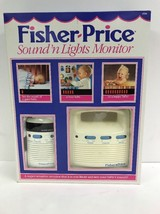 Fisher Price - Sound n Lights Monitor - Super Sensitive Baby Monitor - $16.77