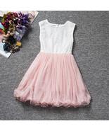 New Flower Girl Dresses Kids Princess Wedding Ball Gowns For Age 3-10 Ye... - $35.00