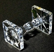 "1 (One) WATERFORD KNIFE REST Cut Lead Crystal 3 5/8"" - Signed with Gold Tag - $36.09"