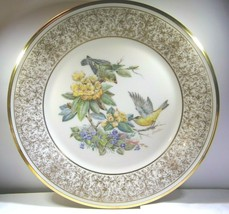 "Lenox China Boehm 1971 ""Goldfinch"" Plate New in Original Box Box Written On - $56.99"