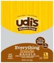Udi's Gluten Free Everything Inside Bagel (Case of 8) - $73.62