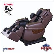 Luraco Brown iRobotics i7 3D Zero Gravity Massage Chair Bonus Eye Massager - $8,490.00