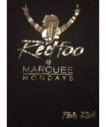New~Redfoo LMAFO Party Rock DJ Las Vegas Marquee Promo Tee T-Shirt Gold ... - $9.89