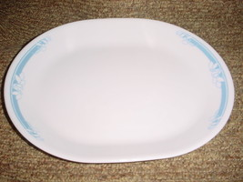 CORELLE JASMINE 12.25 INCH OVAL SERVING PLATTER NEW FREE USA SHIPPING - $18.69