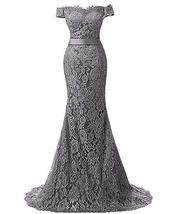Women's Long Mermaid Lace Formal Prom Dress Wedding Dress Evening Party ... - $149.99