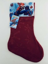 Marvel Spider-Man Red Christmas Stocking NEW - $6.92