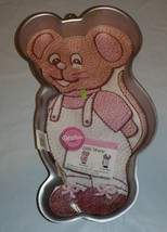 Wilton Little Mouse Cake Pan 2105-2380 With Instructions - $17.81