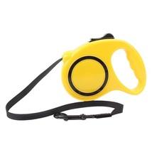 (yellow size 3M)2016 5 Colors 3M Automatic Retractable Adjustable Pet Do... - $20.00