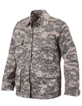 Rothco Military BDU Shirt Tactical Army Digital camouflage Fatigue Jacke... - $35.54