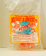 1993 Mc Donalds Happy Meal Unopened Mip - Epcot Center - Goofy In Norway - $6.99
