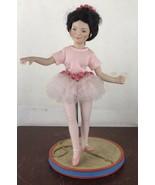 "Edwin Knowles Reco Katie Tightrope Walker Porcelain Doll 11"" By John McC... - $14.03"
