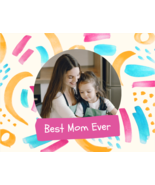 Best Mom Ever Personalized Greeting Card - $4.90